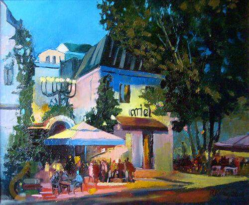 Sztuka Polska Galeria Kulig Radziszewska Ariel Cafe 1f168f0f2fe988b443ba63ab65119120