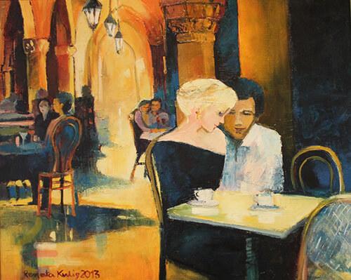 Sztuka Polska Galeria Kulig Radziszewska Mala Czarna 89404c517c1572e19e5f182aa8b71b56