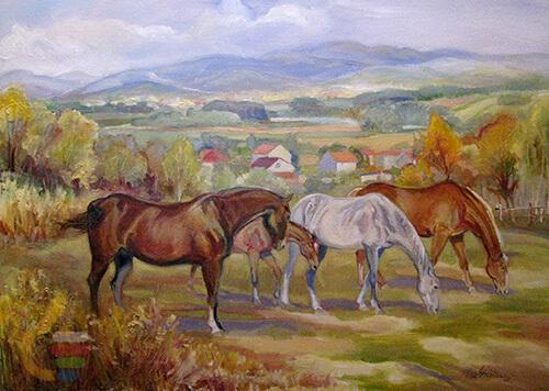Sztuka Polska Galeria Wojtowicz Cichon Na Pastwisku 9b41c33169e4166e9a843ede57d873b6
