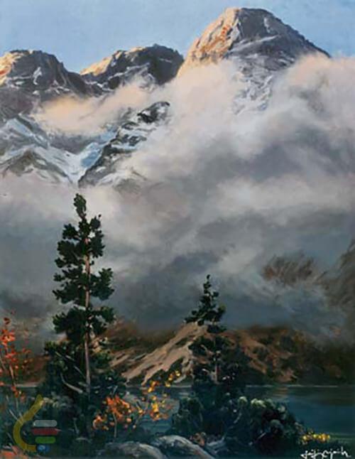 Mięguszowieckie szczyty nad Morskim Okiem