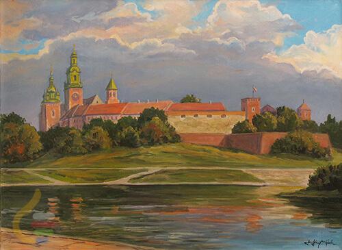 Sztuka Polska Serafin Wawel Od Strony Wisly 7d709d632d39f7985aaab5d9f08b9bba